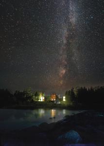 Starry night of the Headlands Milky-way