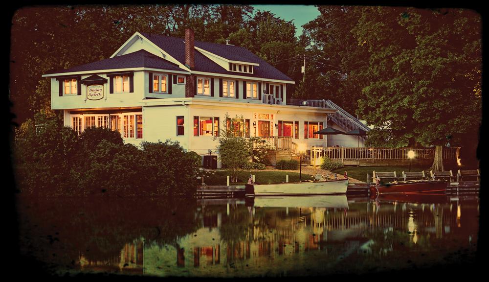 Evening Photo of the Riverside Inn