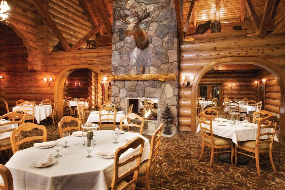 Tamarack Garland Resort Dining Room
