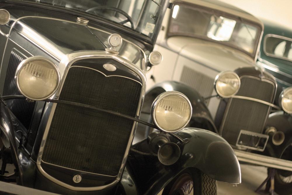 iStock Photot of Vintage Cars