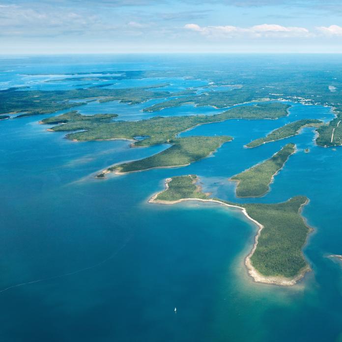 Les Cheneaux's Government Islands