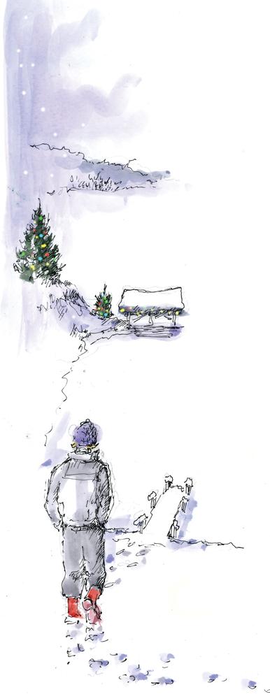 xmas winter walker