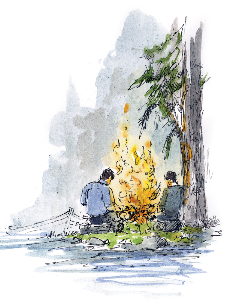 Water Water - Campfire