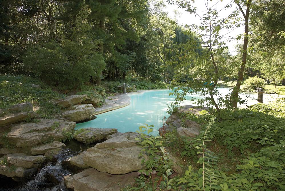 Edsel Ford Estate Landscapes