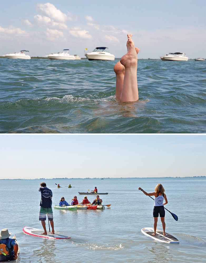 Strawberry Island and Stand Up Paddleboarding
