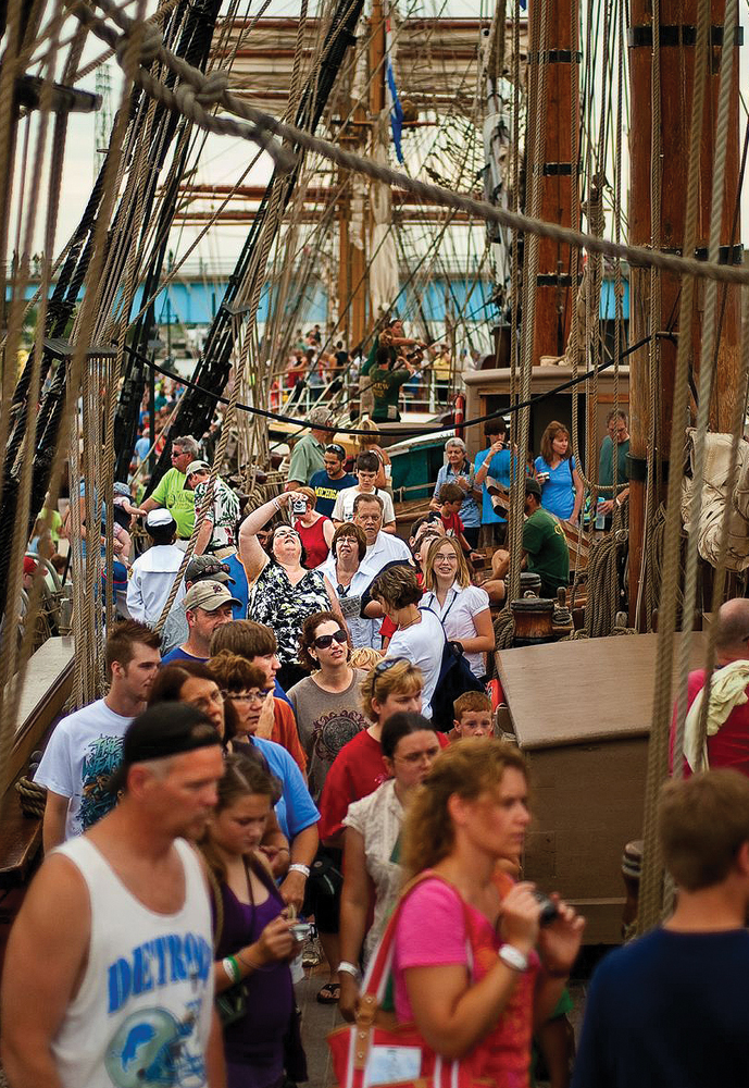 Tall Ships Crowds