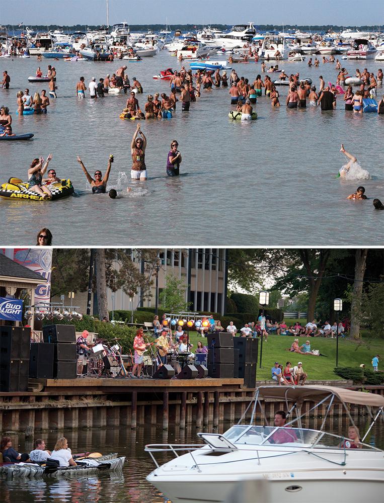 Anchor Bay AquaPalooza and outdoor concert at Mt. Clemens River