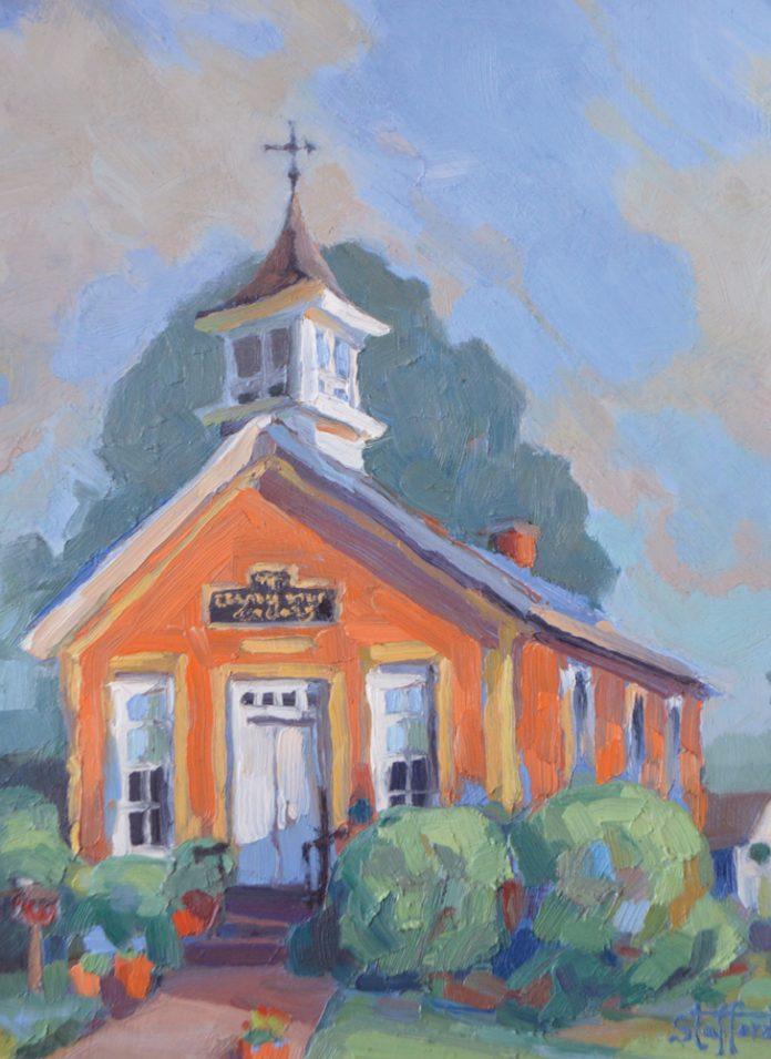 Schoolhouse Portrait