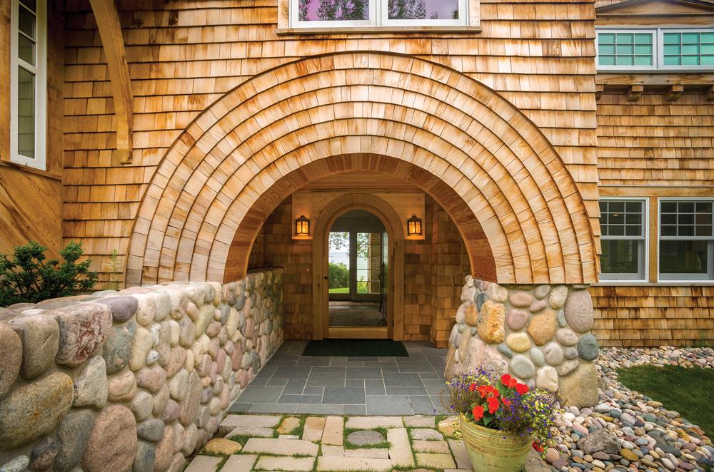 Entryway by Ken Richmond and Biggs Construction