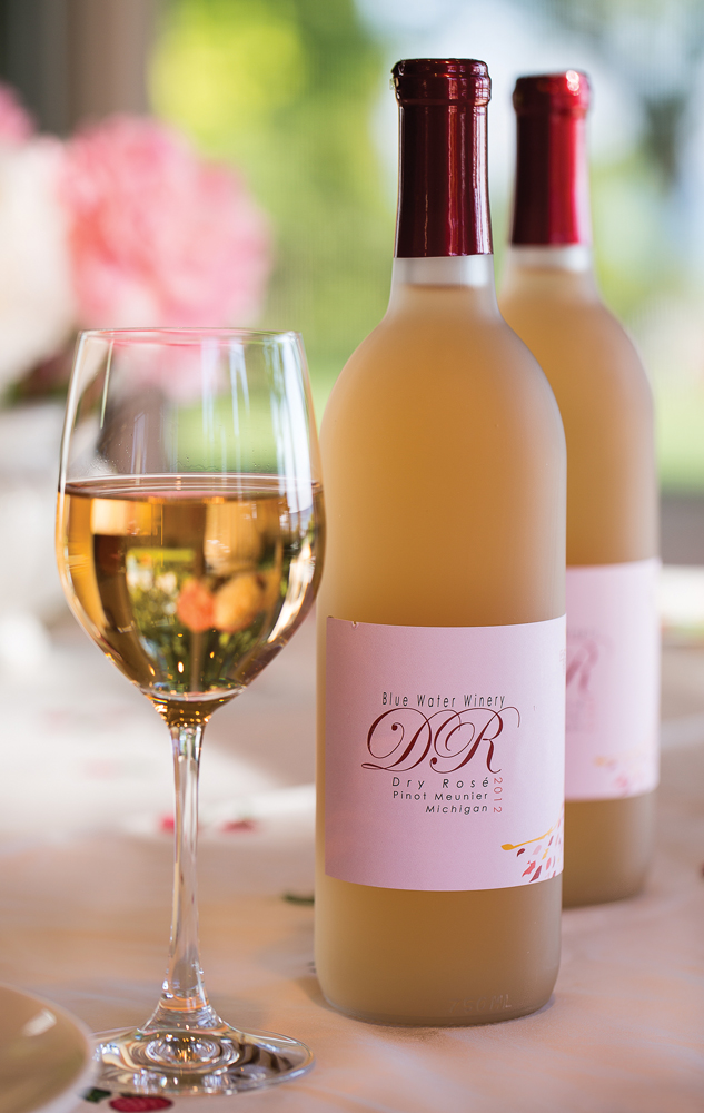 Blue Water Winery Dry Rose