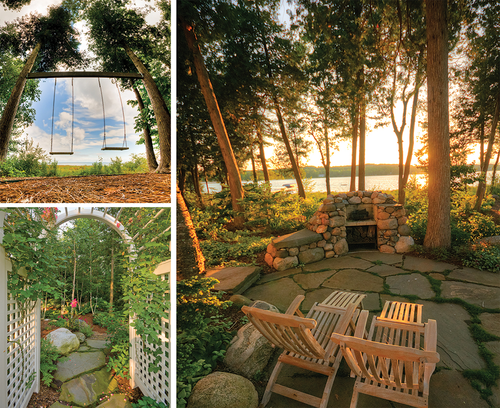Swings, secret gardens, and outdoor seating