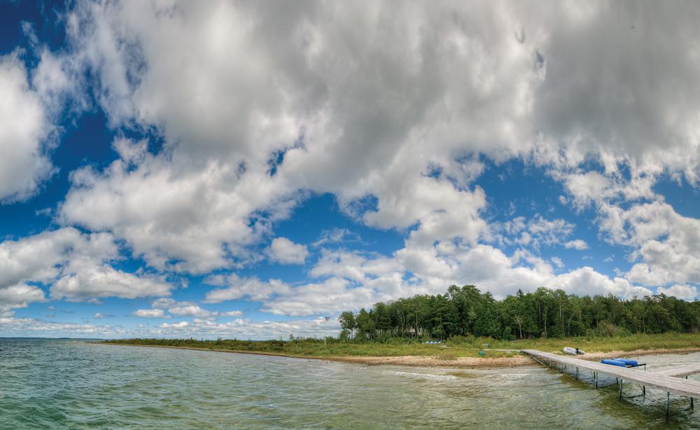 Peninsula panoramic view