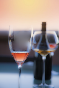 Sunset Wine Courtesy Thinkstock