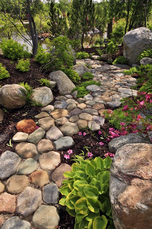 Japanese Garden Rock Path