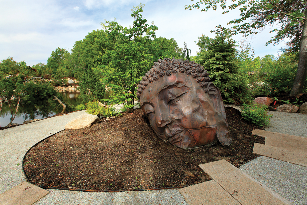 Long Island Buddha by Zhang Huan