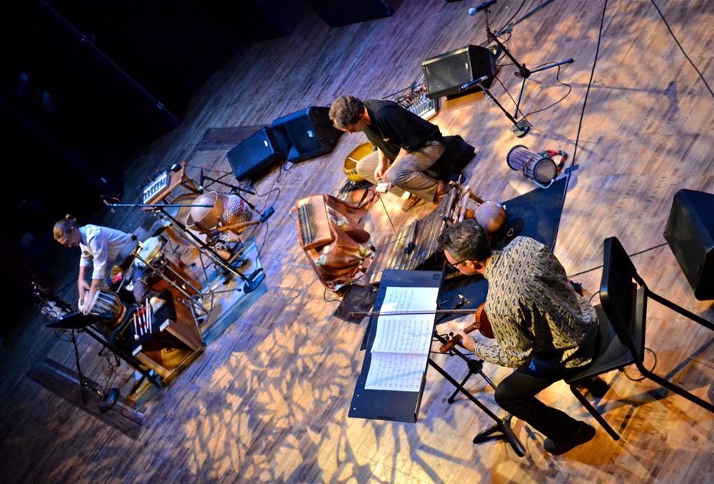Mark Stone Trio on stage