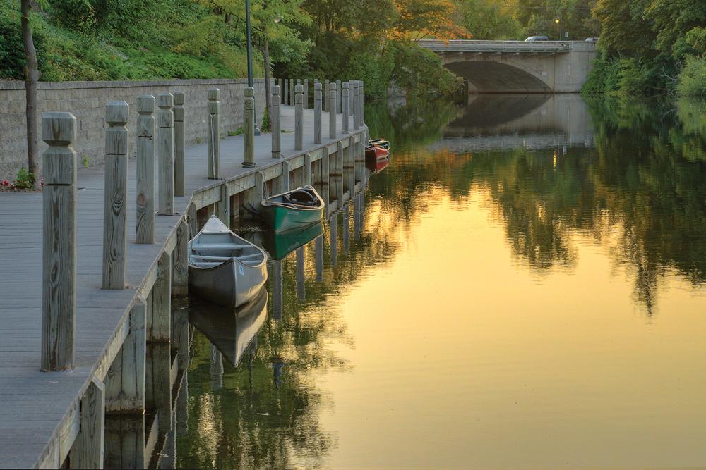 River Boardwalk Ken Scott
