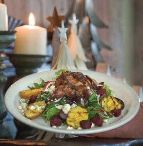 Clifford Lake Inn Quail Salad