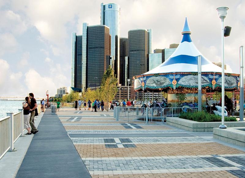 Detroit Riverwalk - after
