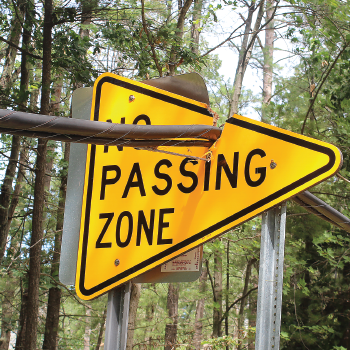Sleeping Bear Dunes National Lakeshore - No Passing Zone