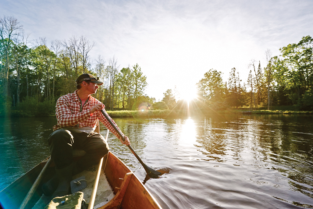 Josh Greenberg Paddle-boating