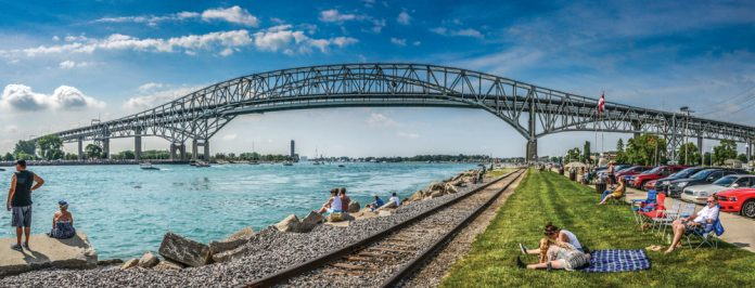 Michigan Blue Bridge