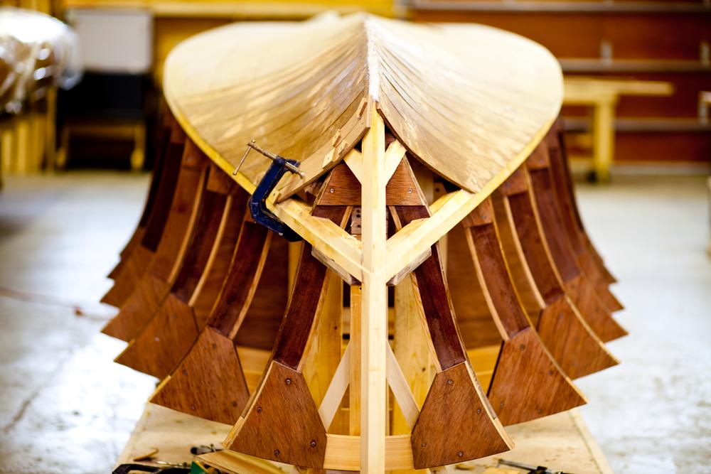 Narayan Mahon Great Lakes Boat Building School Process