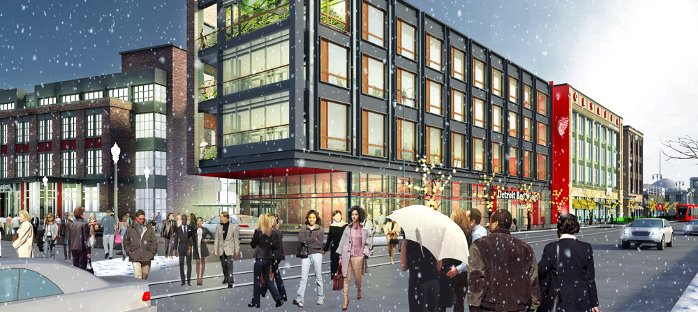 RS565 Woodward Avenue Conceptual Rendering