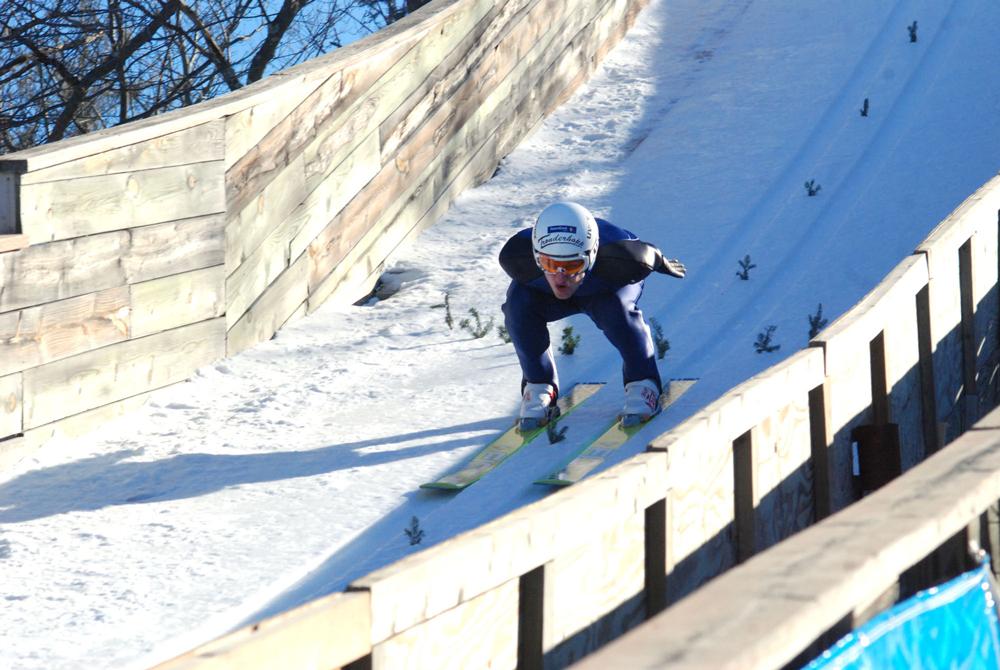 Susie Fox Skiing Michigan
