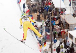 Susie Fox Ski Jumping Pine Mountain
