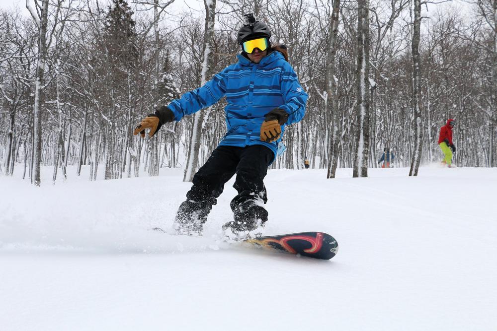 Joey Wallis Skiing Michigan's Upper Peninsula