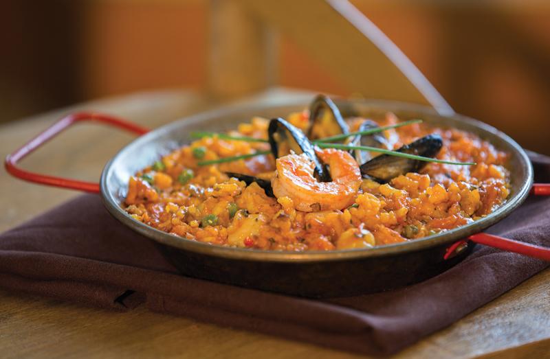 Palette Bistro - Seafood Paella