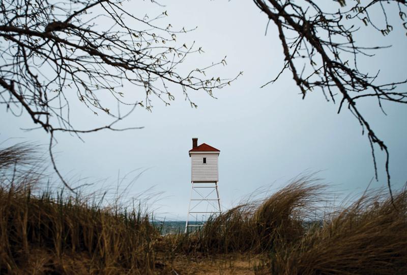 Big Sable Point Lighthouse - diaphone horn