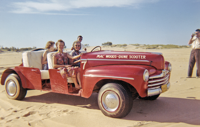 Dune Rides - Red Scooter
