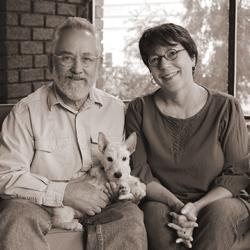 M. Christine Byron and Tom Wilson