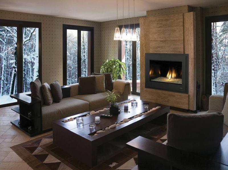 Hearthcrest gas fireplace