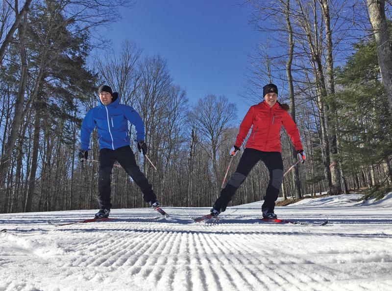 Ski Brule Skate Skiers