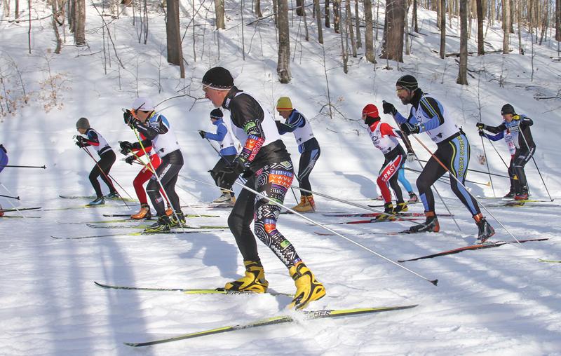 Skiers at Boyne Mountain