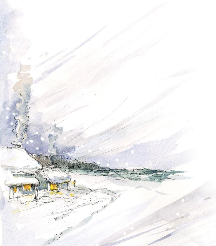 Winter Wind by Ellen Airgood