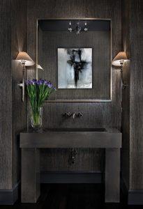 Richard Ross Design - Powder Room