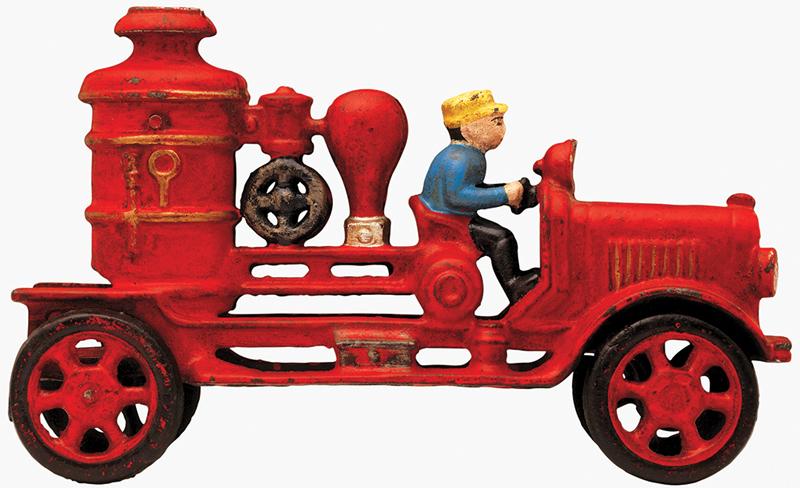 Antique toy train