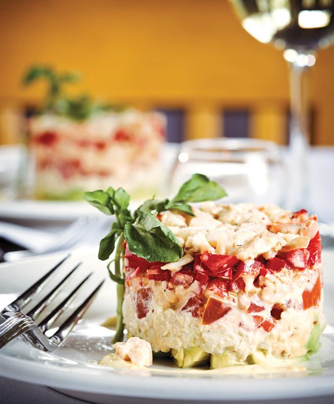 Riverside Inn Crab Salad