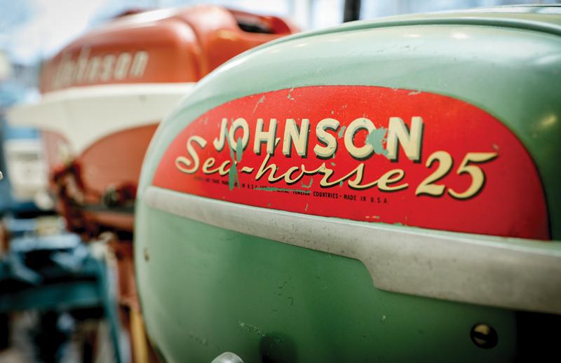 Johnson Sea-horse 25 boat engine