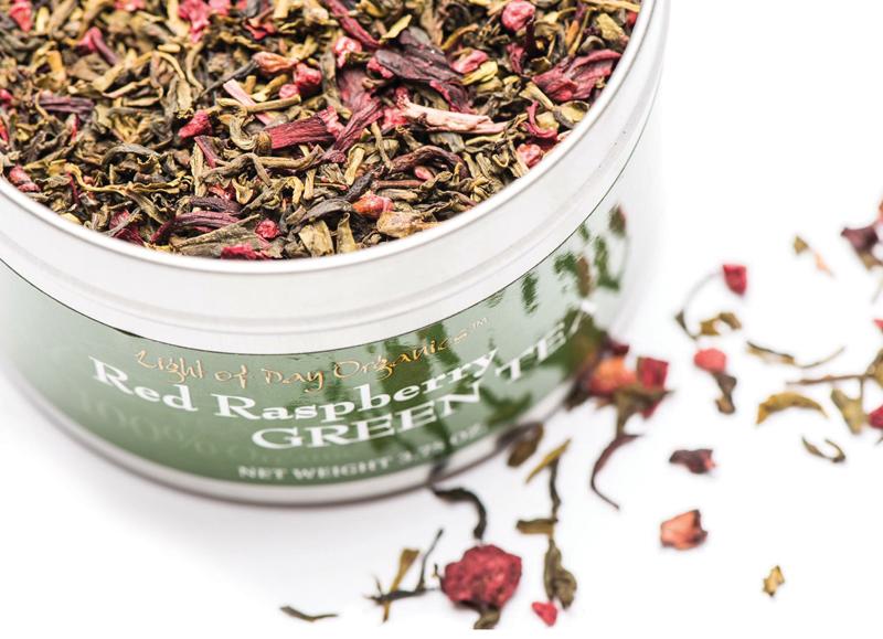 Red Raspberry Green Tea