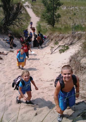 Indiana Dunes - Hikers