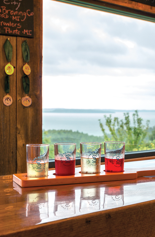 Flight of Ciders - Suttons Bay Cider