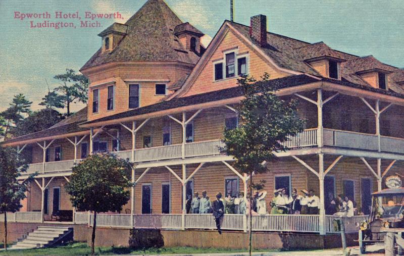 The hotel at Epworth