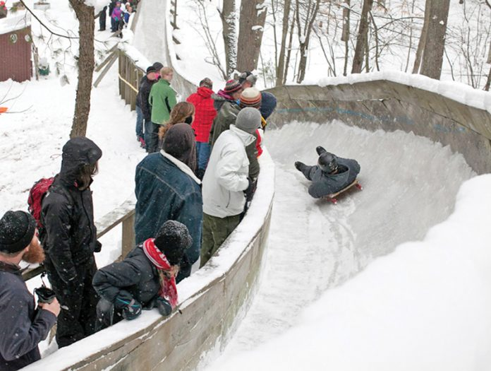 muskegon sports complex - luge track