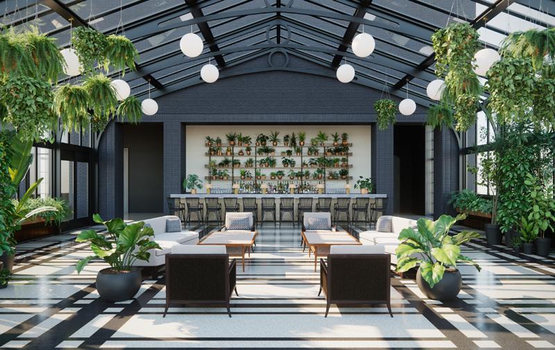 Shinola Hotel Conservatory