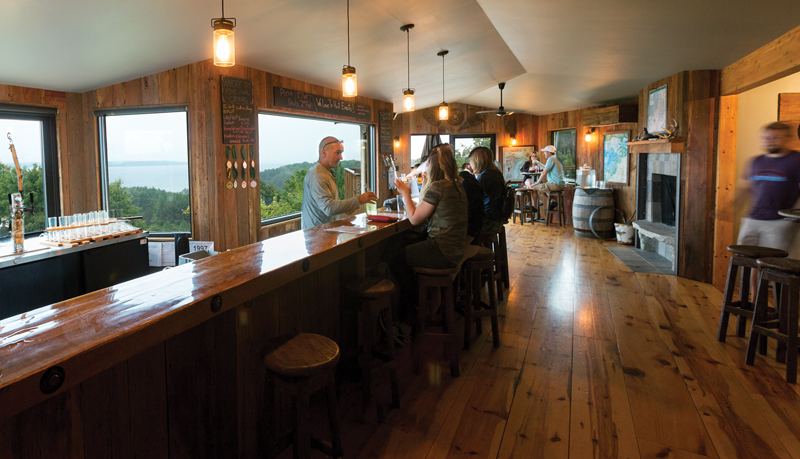 Suttons Bay Ciders - Interior